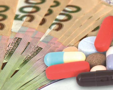 Передоплата за ліки при закупівлях за бюджетні кошти