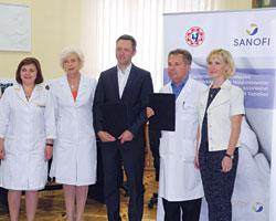 Санофі вУкраїні та ОХМАТДИТ продовжують співпрацю заради здоров'я онкохворих дітей
