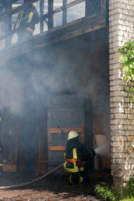 Масштабна пожежа сталася на фармацевтичному заводі в Білій Церкві