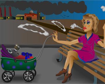 Вчем риск курения для беременных: новые данные