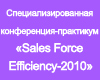 ��������� ������������������ �����������-���������� �Sales Force Efficiency-2010�