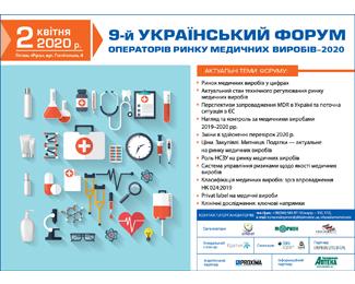 17 червня відбудеться 9-й Український форум операторів ринку медичних виробів
