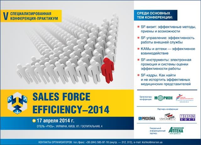 Sales Force Efficiency–2014
