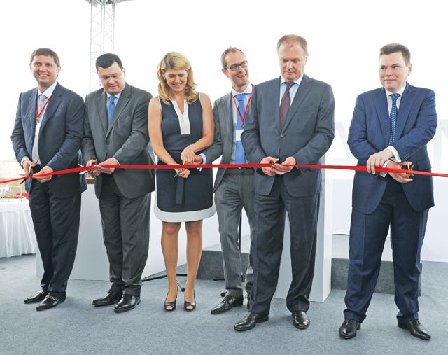 Відкриття новітнього заводу «БІОФАРМА», збудованого «знуля»