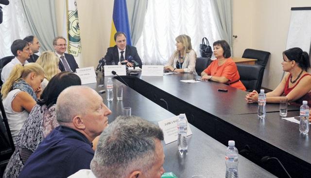 ВУкраїні буде реалізовано Проект щодо профілактики неінфекційних захворювань