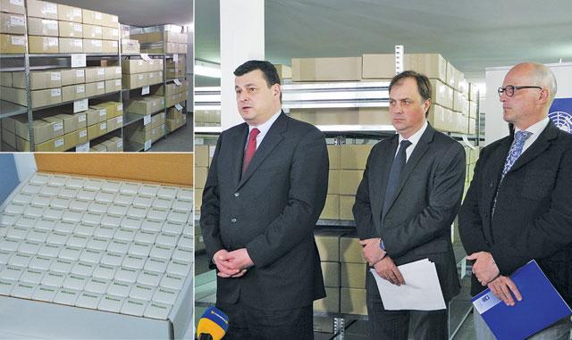 Перша партія протитуберкульозних та орфанних препаратів надійшла вУкраїну