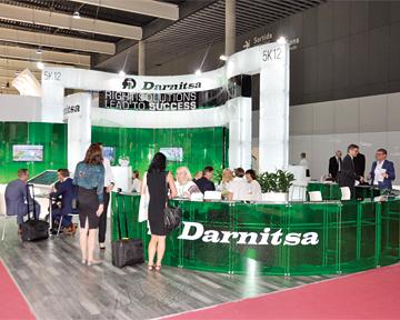 Компания «Дарница» впервые приняла участие вовсемирной выставке CPhI Worldwide вБарселоне