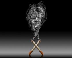 аллергия на курение фото