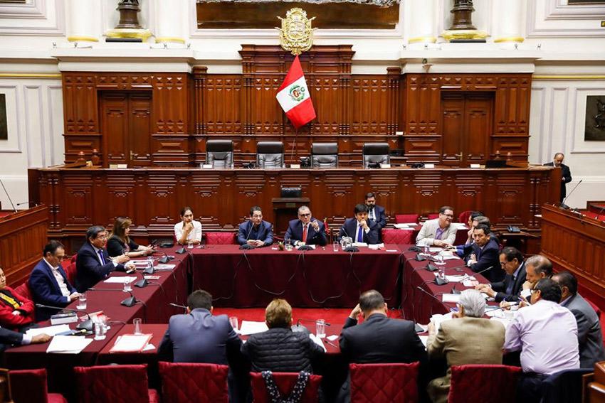 Заседание одной из парламентских комиссий